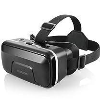 エレコム VRゴーグル VRヘッドセット ピント調整可能 メガネ対応 ...