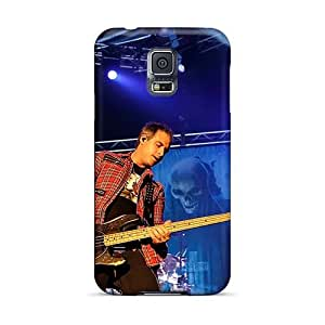 Shock-Absorbing Hard Phone Cases For Samsung Galaxy S5 (bcU15161vTMS) Support Personal Customs Fashion Avenged Sevenfold Band A7X Skin
