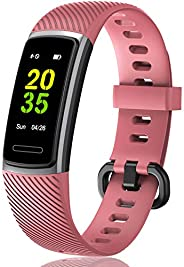 GBAuto High-End Fitness Trackers HR, Activity Trackers Health Exercise Watch with Heart Rate and Sleep Monitor