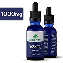 Image of the product 1000mg Hemp Oil for Pain that is listed on the catalogue brand of Hemphoria.
