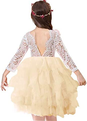 Miss Bei Backless Toddler Dresses