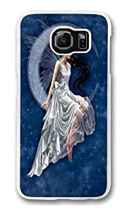 Frost Moon Fairy Custom Samsung Galaxy S6/Samsung S6 Case Cover Polycarbonate Transparent