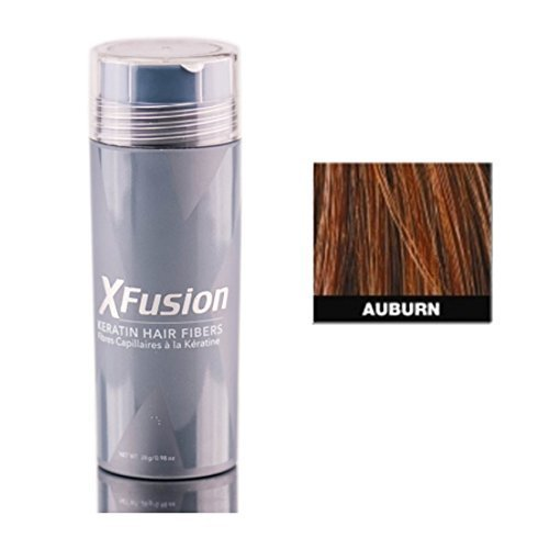 Price comparison product image XFusion Economy Size (28g) Keratin Hair Fibers, Auburn