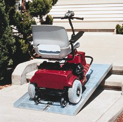 Wheelchair Ramp - Suitcase. Size 2'x29'' Use for 2'' rise manual or 4'' rise power chair