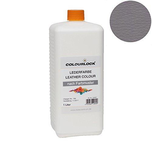 COLOURLOCK® Lederfarbe 1 Liter passend für Ferrari blu scuro grigio scuro