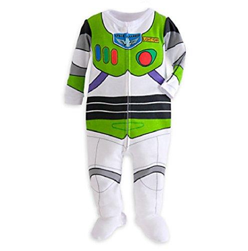 Disney Toy Story Buzz Lightyear Stretchie Sleeper for Baby (0-3M) (Baby Buzz Lightyear)