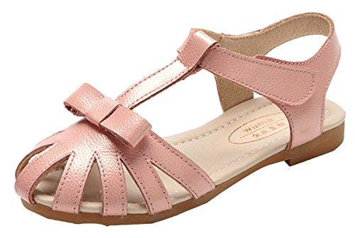 La vogue Zapatos Niña Sandalia Antideslizante Para Verano Rosa