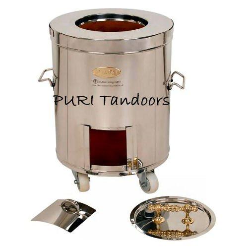 Acero inoxidable Indian Tandoori para horno arcilla - pequeño ...
