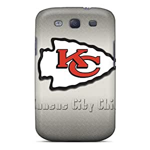 Galaxy S3 Case Cover - Slim Fit Tpu Protector Shock Absorbent Case (kansas City Chiefs)