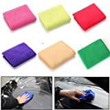 Car Cleaning Equipments - 30x70cm Microfiber Absorbent Car Wash Cleaning Towel Washcloth - 1PCs