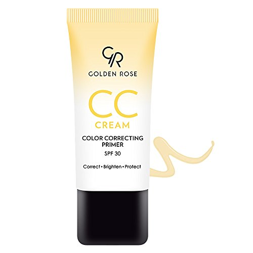 Golden Rose CC Cream with Spf 30, Yellow
