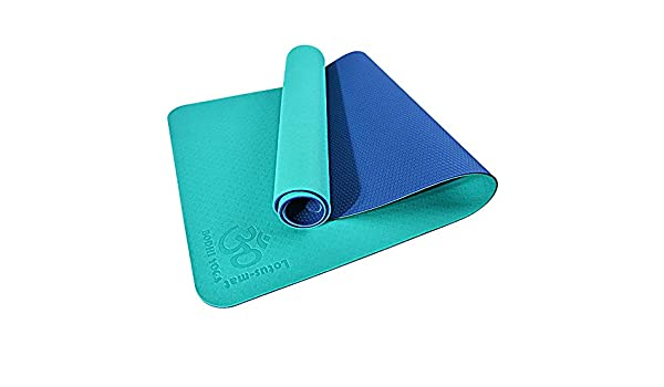 Yuan Yoga Mat - Hombres y Mujeres Slip Beginner TPE Yoga Mat ...