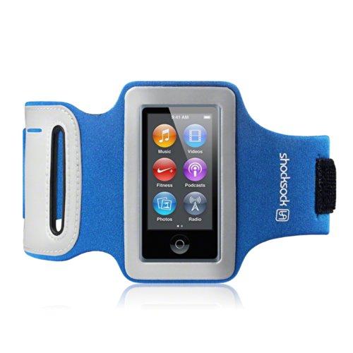 IPOD NANO 7 SHOCKSOCK ARMBAND SPORT SCHUTZ TASCHE (Blau)