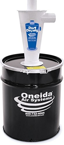 Deluxe Dust (Oneida Air Systems AXD000002 Industrial Steel Dust Deputy Deluxe Kit)