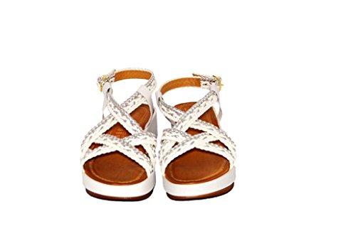 Sandalen Sandaletten aus Leder Schuhe Damen RIPA shoes - 09-10010