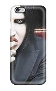 (ukOMkbX1384sDjVG)durable Protection Case Cover For Iphone 6 Plus(marilyn Manson)