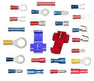 mixed crimp terminal pack 80 piece auto electrical wiring repair rh amazon co uk best connectors vehicle wiring vehicle wiring connectors uk