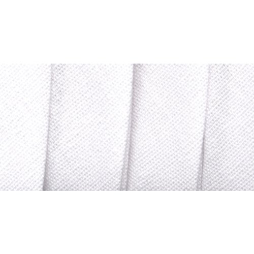 Wrights 117-206-030 Extra Wide Double Fold Bias Tape, White, 3-Yard (Bias Fold Tape)