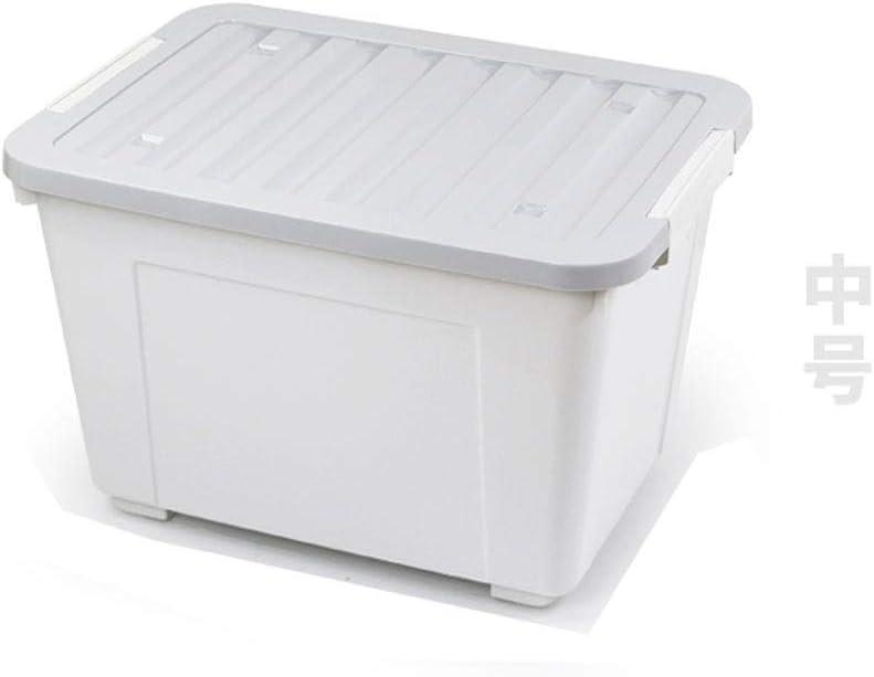 DaFei Caja de Almacenamiento con Tapa, pequeña de plástico, Ligera ...
