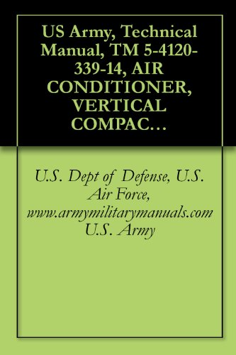 US Army, Technical Manual, TM 5-4120-339-14, AIR CONDITIONER, VERTICAL COMPACT; 9,000 208 V, 3 PHASE, 50/60 HZ (TIERNEY MODEL TM9KV-208-3-60), (NSN 4120-01-091-9672), ... {TO 35E9-253-1}, military manuals