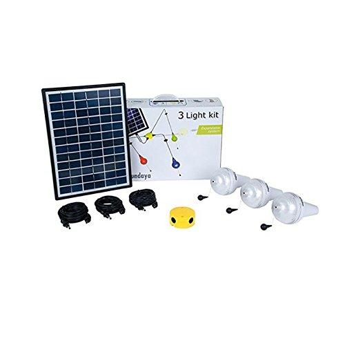 Kit solar-Beleuchtung 3Ulitium 200SUNDAYA