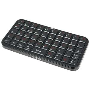 LogiLink ID0070A - Teclado de bolsillo, negro