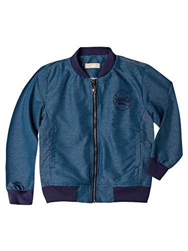 OFFCORSS Toddler Boy Down Jacket Long Sleeve Blue 3T