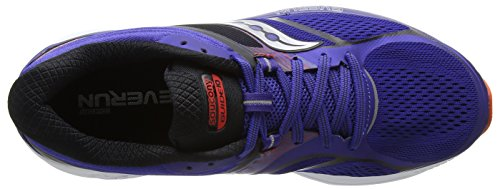 Saucony Guide 10, Scarpe Running Uomo Blu (Blue/Orange)