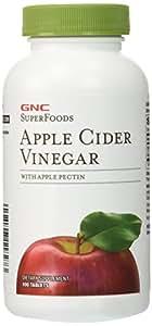 GNC SuperFoods Apple Cider Vinegar 100 Tablets