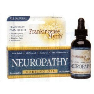 Frankincense & Myrrh Neuropathy Rubbing Oil 2 Oz. (Pack Of 2)