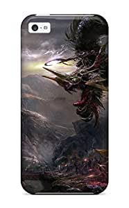 Premium Durable Dragon Fashion Tpu Iphone 5c Protective Case Cover