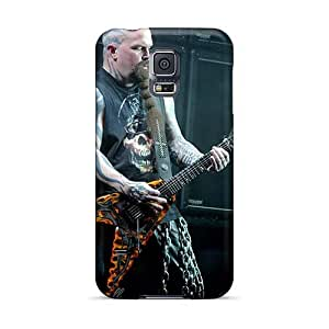 Excellent Cell-phone Hard Cover For Samsung Galaxy S5 (Duz2461xTuT) Custom Attractive Motorhead Band Pattern