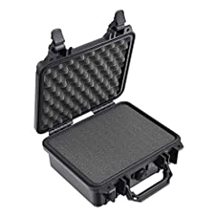 """Pelican Protector Cases are made with Copolymer Polypropylene, using an open cell core and solid wall construction, which is stronger and lighter that the completion. You can tell its a Pelican case by the distinctive """"twin-ribbed"""" top surfac..."""