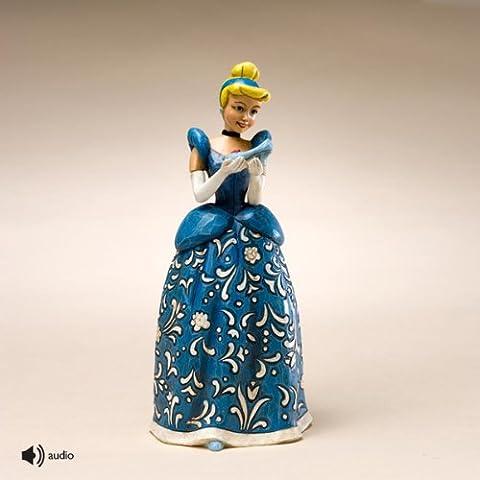 Disney Traditions designed by Jim Shore for Enesco Cinderella Sonata Figurine 6.25 IN (Disney Traditions Beast)