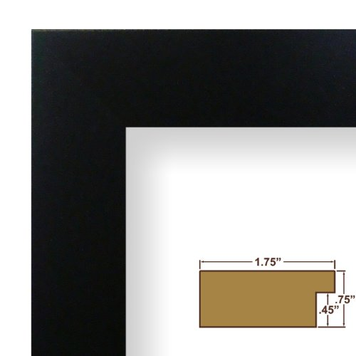 18x34 Picture / Poster Frame, Smooth Finish, 1.75