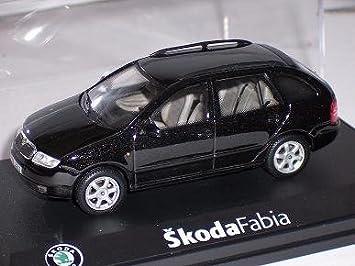 Skoda Fabia I 1 Kombi Combi Schwarz Black Magic 143ab004d 1 43 Abrex Modellauto Modell Auto Spielzeug