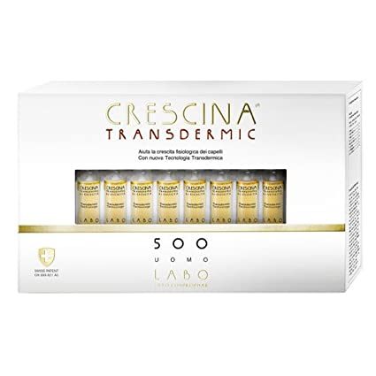 Amazon.com: LABO CRESCINA TRANSDERMIC RI-CRESCITA 500 Hair ...