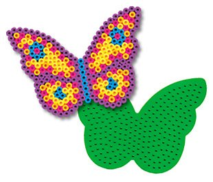 (Butterfly Pegboard for Perler Fuse Beads)