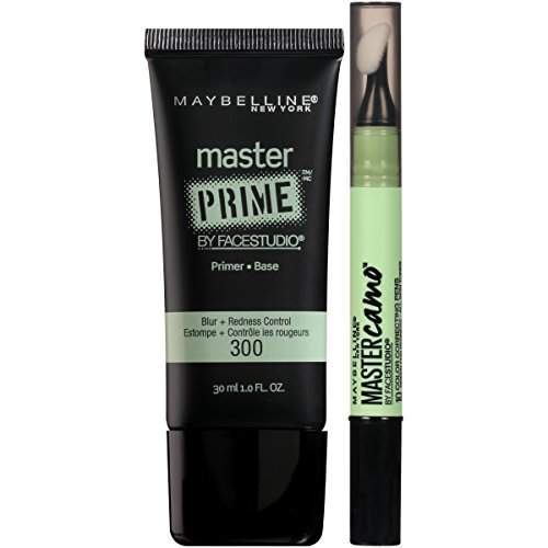 Maybelline New York NY Minute Makeup Kit Primer Color Corrector, Green Clear Face Base Makeup Kit