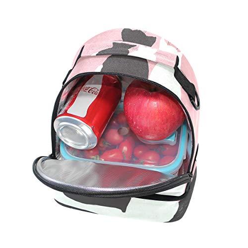 el almuerzo hombro térmica ajustable Alinlo para para el correa colegio Bolsa de Pincnic para con el qwAItfR