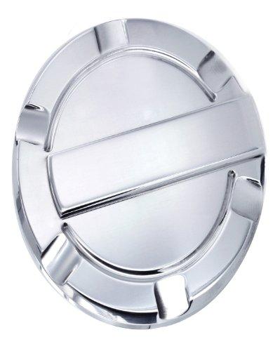 All Sales 6059P Billet Fuel Door Trim Brushed Aluminum Trim Ring