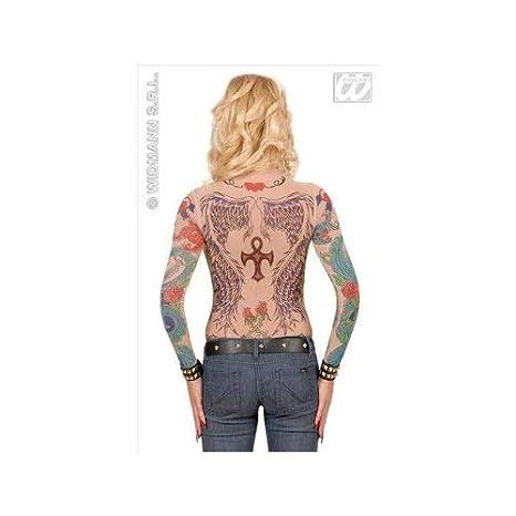 Tatuaje camiseta de Angel Wings: Amazon.es: Juguetes y juegos