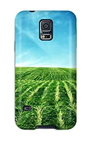 Awesome Earth Landscape Flip Case With Fashion Design For Galaxy S5