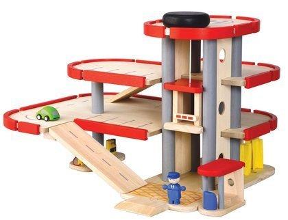 Plan Toys Garage : Amazon plan toys city series parking garage by plantoys toys