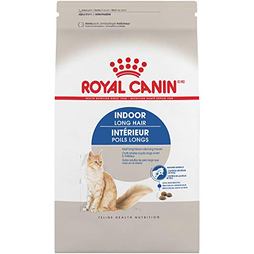 Royal Canin Indoor Long Hair Adult Dry Cat Food, 6 lb.