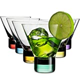 MITBAK 8 - Ounce Martini Glasses (Set of 6) With