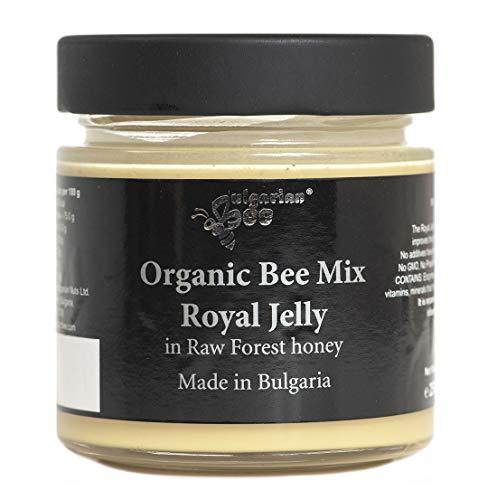 500 g Rauwe Honing met Koninginnengelei, Onverwarmd, Geen Toevoegingen