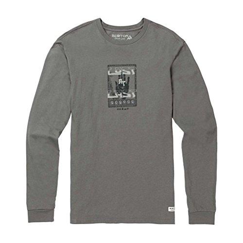 Burton Men's Bear Hollow Long Sleeve T-Shirt, Castlerock, Large (Bear Hollow)