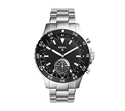 Fossil Hybrid Smartwatch - Q Crewmaster Stainless Steel from Fossil