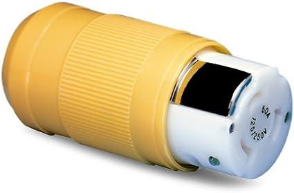 Marinco 50 Amp 125 V Locking Connector